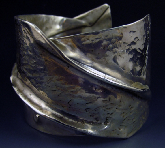 Sterling 2 inch Cuff